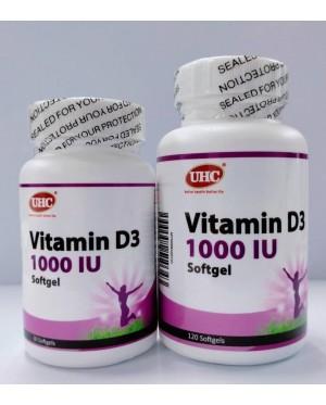 UHC Vitamin D3 1000 IU
